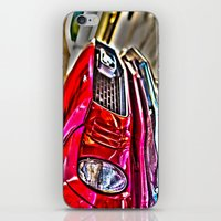 Mustang on Hollywood Hills iPhone & iPod Skin