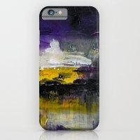 Purple Abstract Landscap… iPhone 6 Slim Case