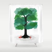 Man & Nature - The Tree … Shower Curtain