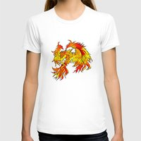 T-shirt featuring Phoenix by Rishi Parikh