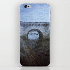 Paris Bridge & Seine Holga Double Exposure iPhone & iPod Skin