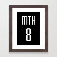 MTH8 Framed Art Print