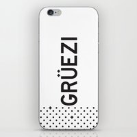 Gruezi//Five iPhone & iPod Skin