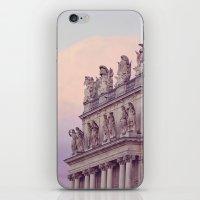 Sunset At Versailles iPhone & iPod Skin