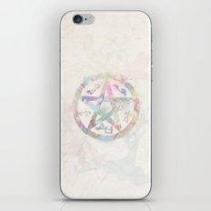 Devil's Trap Supernatural Watercolour iPhone & iPod Skin