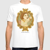 Smoked Fish (Anniestrati… Mens Fitted Tee White SMALL