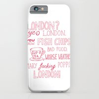 snatch quote red iPhone 6 Slim Case