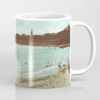 Swans In A Lost Fishing … Mug