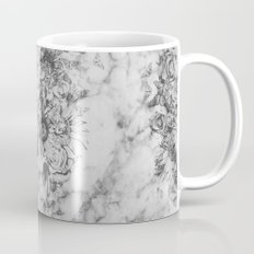 Bookmatched Skull Mug