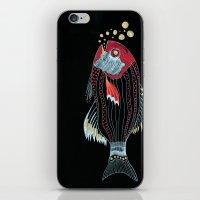 Happy New Fish  iPhone & iPod Skin