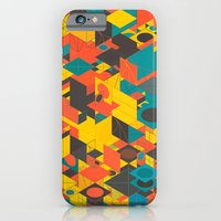 iPhone & iPod Case featuring Panelscape: colours from Space Filler by ⊙ Paolo Tonon