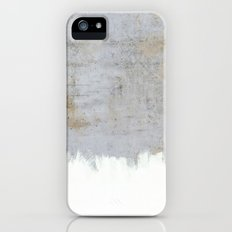 Painting On Raw Concrete iPhone (5, 5s) Slim Case