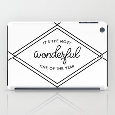 IT'S THE MOST WONDERFUL TIME OF THE YEAR iPad Case