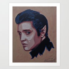Elvish Presley Art Print