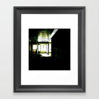 Deck 8 Framed Art Print
