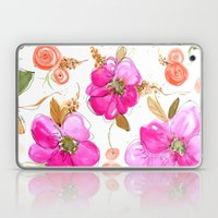All-Pink Double Spring Floral Laptop & iPad Skin