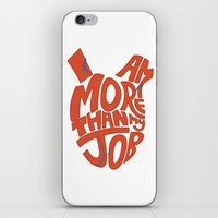 Job =/= Self iPhone & iPod Skin