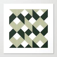 #213 Politics – Geometry Daily Canvas Print