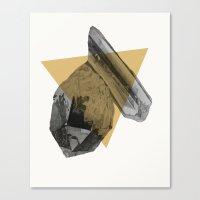 crystals Canvas Print