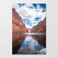 Jump Right In Canvas Print