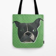 Boston Terrier Print Tote Bag