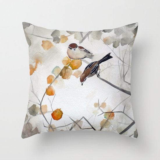 Fall Throw Pillow