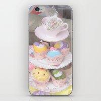 Cupcake Tower iPhone & iPod Skin
