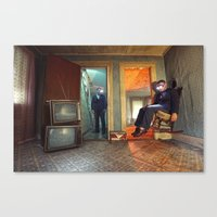 Static/Abduction Canvas Print