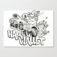 hamwallet  Canvas Print