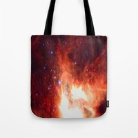 Burning Star Tote Bag