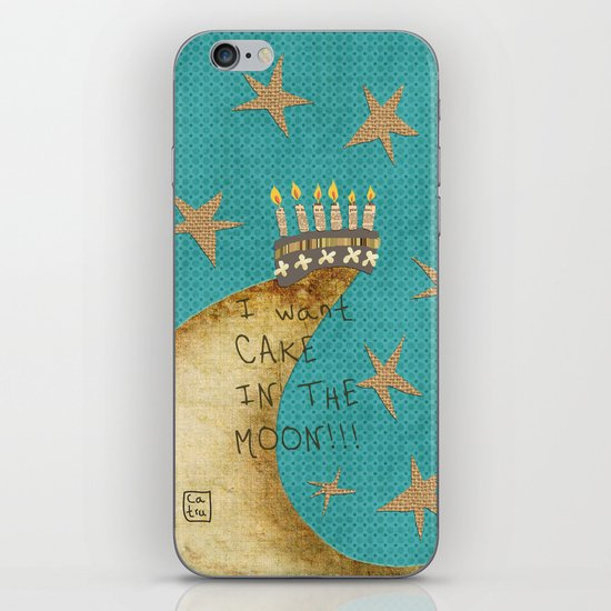 For my birthday iPhone & iPod Skin
