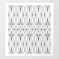 My Favorite Pattern 1 Art Print