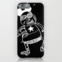 iPhone & iPod Case featuring villain in black by ana javier