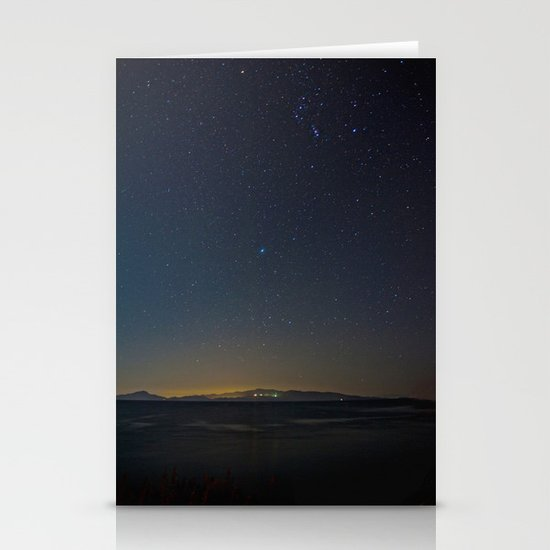 And the Stars to Rule the Night Stationery Card