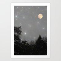 Moon Dust Art Print