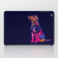 Psychedelic Dog iPad Case