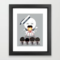 How To Roast Stay Puff M… Framed Art Print