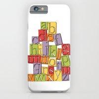 iPhone & iPod Case featuring ABC Block by Stephanie Marie Steinhauer