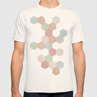 Pastel Mens Fitted Tee Natural SMALL