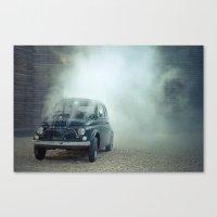 Cloud Car Canvas Print