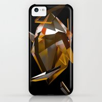 iPhone Cases featuring Golden Crystal by mikemottus