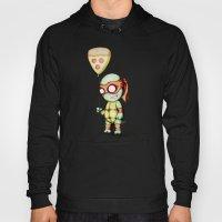 Mikey Pizza Balloon  Hoody