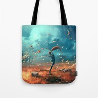 SAGITTARIUS form the Dancing Zodiac Tote Bag