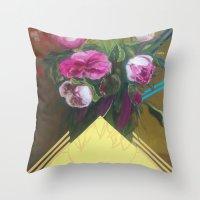 Flower Still Life #1 Throw Pillow