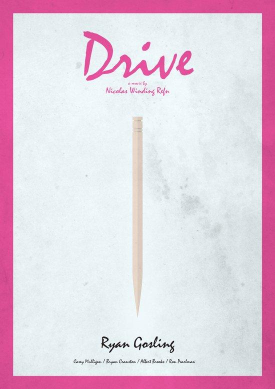 Drive - minimal poster Art Print