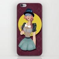 Hat Girl 2 iPhone & iPod Skin