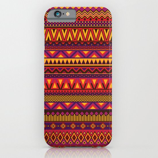 Aztec Pattern 2 iPhone & iPod Case