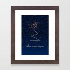 wish tree Framed Art Print