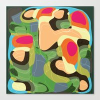 Topic Tropic Canvas Print