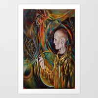 GUIDED BY THE UNIVERSE Art Print